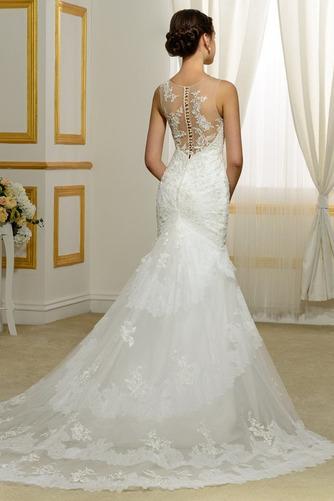 Vestido de novia Playa Invierno Barco Natural largo Tallas pequeñas - Página 2