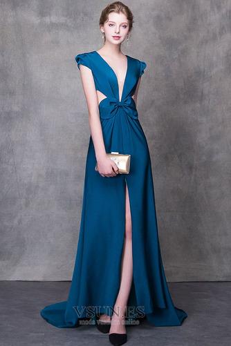 Vestido de fiesta largo Falta Verano Natural Elegante Escote en V - Página 6