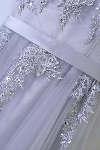 Vestido de dama de honor Hasta el suelo Corte-A Sin mangas Verano Capa Multi - Página 4
