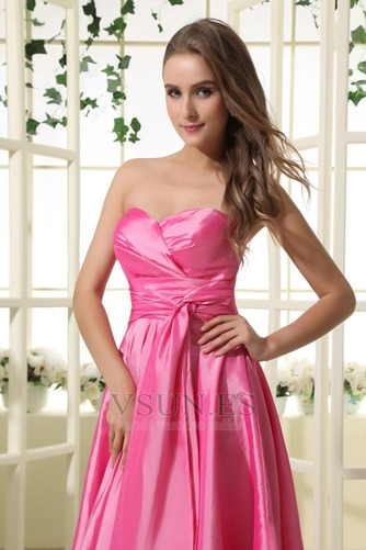 Vestido de dama de honor Oscilación 2015 Corte-A Volantes Adorno Corto Verano - Página 5