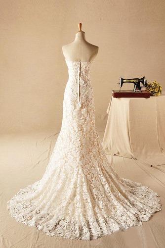 Vestido de novia Clasicos Sin mangas largo Natural Corte Sirena Escote Corazón - Página 3