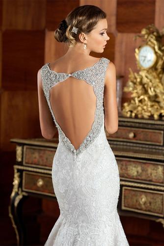 Vestido de novia Corte Sirena Cremallera Cristal Cola Capilla Colores - Página 4