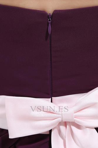 Vestido de dama de honor Capa Multi Oscilación Hasta la Rodilla Verano Natural - Página 7
