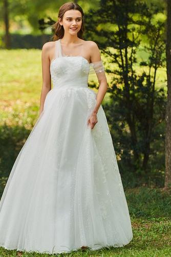 Vestido de novia Romántico Encaje Corte-A Sin mangas primavera Abalorio - Página 2