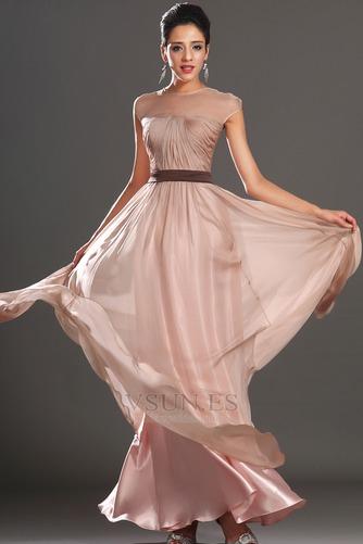 Vestido de noche Natural Capa de tul Fajas Tallas pequeñas Fuera de casa - Página 4
