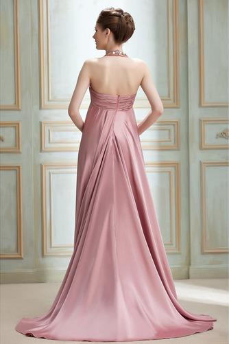 Vestido de noche Cremallera Imperio Joya primavera Plisado Satén Elástico - Página 2