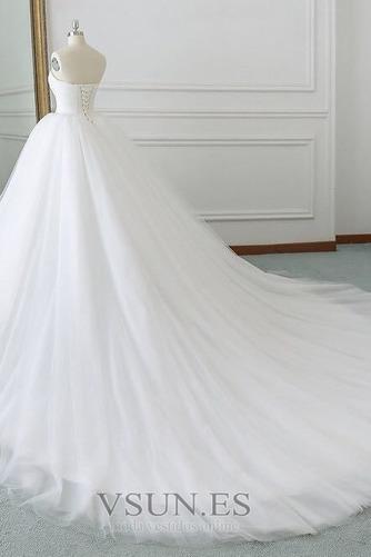 Vestido de novia Corte-A primavera Drapeado largo Cordón Sala - Página 2