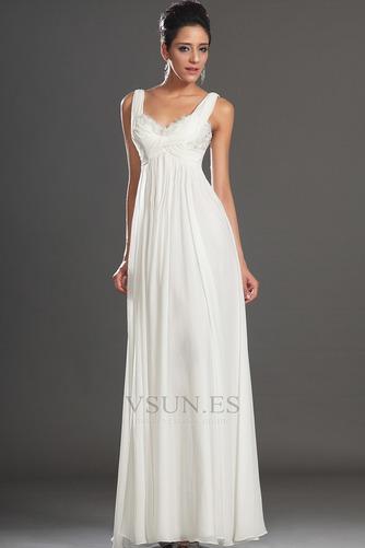 Vestido de noche Gasa Reloj de Arena Hasta el Tobillo 2015 Diosa vestido de novia - Página 4