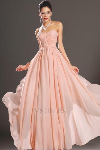 Vestido de noche elegante pequeñas Sin mangas Natural Corte-A Cremallera - Página 2
