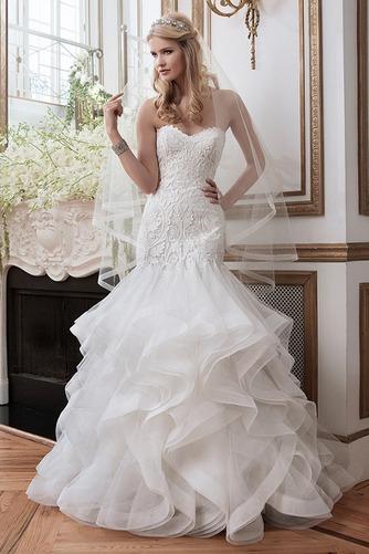 Vestido de novia Espectaculares largo Natural Fuera de casa Apliques - Página 1