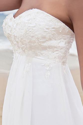 Vestido de novia Clasicos Imperio Cintura Espalda Descubierta Escote Corazón - Página 3