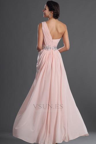 Vestido de fiesta Elegante Bebé rosa Verano Natural Gasa Sin mangas - Página 8