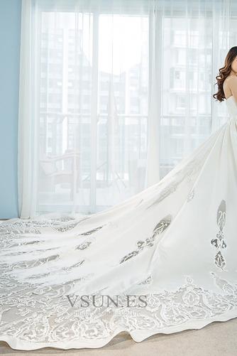 Vestido de novia Pera Sala Escote Corazón Natural Corte-A Formal - Página 3