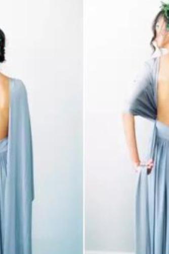 Vestido de dama de honor Blusa plisada Verano Sencillo Espalda Descubierta Triángulo Invertido - Página 6