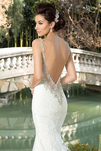 Vestido de novia Playa Apliques Natural tul Colores Cola Catedral - Página 4