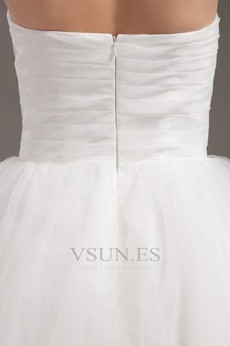 Vestido de novia Romántico Corte princesa Hasta la Rodilla Tallas pequeñas - Página 7