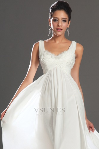 Vestido de noche Gasa Reloj de Arena Hasta el Tobillo 2015 Diosa vestido de novia - Página 8