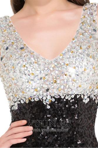Vestido de fiesta primavera Corte Recto Estrellado Moderno Hasta el suelo - Página 4