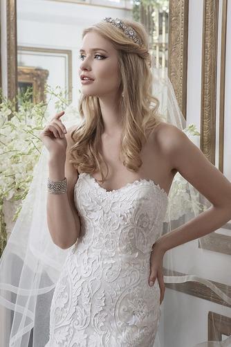 Vestido de novia Espectaculares largo Natural Fuera de casa Apliques - Página 2