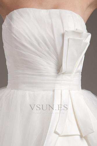 Vestido de novia Romántico Corte princesa Hasta la Rodilla Tallas pequeñas - Página 8
