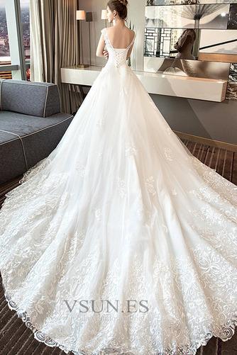 Vestido de novia Encaje Satén primavera Corte-A Formal Camiseta - Página 4