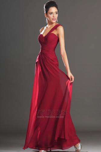 Vestido de noche Elegante Blusa plisada Corte Recto Plisado Hasta el suelo - Página 2