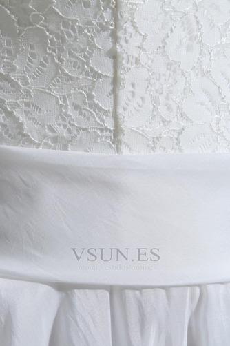 Vestido de novia Playa Oscilación Apliques Natural Corte-A Encaje - Página 8