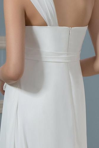 Vestido de novia Imperio Rosetón Acentuado Cremallera Blusa plisada - Página 5