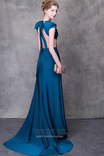 Vestido de fiesta largo Falta Verano Natural Elegante Escote en V - Página 2