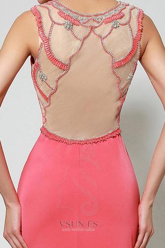 Vestido de noche Invierno Pura espalda Falta Satén Formal Natural - Página 5