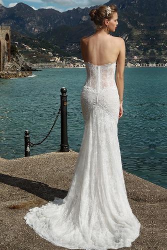 Vestido de novia Corte Sirena Encaje Encaje primavera largo Fuera de casa - Página 2