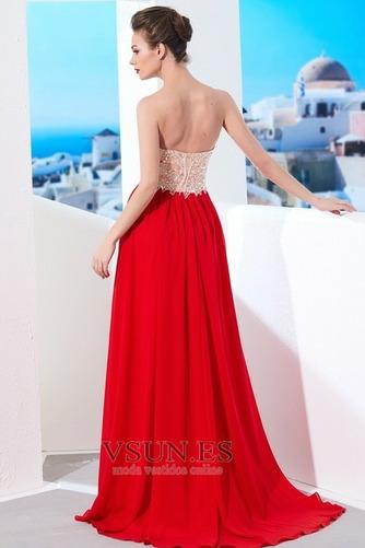 Vestido de noche Espalda Descubierta Espectaculares Falta Verano Escote Corazón - Página 2