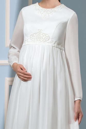 Vestido de novia Tallas grandes Joya Camiseta primavera Fuera de casa - Página 4