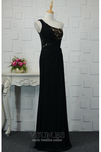 Vestido de noche Elegante Encaje Corte-A Capa de encaje Natural Falta - Página 2