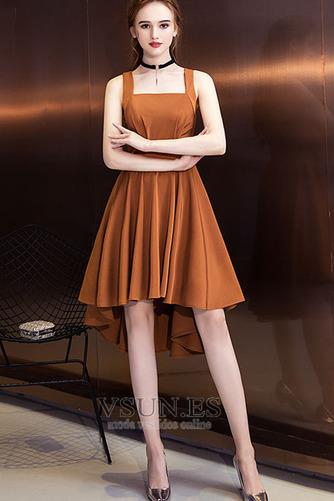Vestido de cóctel Elegante Espalda Descubierta Asimétrico Dobladillo - Página 3