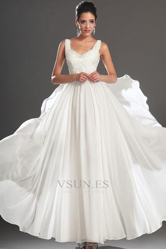 Vestido de noche Gasa Reloj de Arena Hasta el Tobillo 2015 Diosa vestido de novia - Página 2