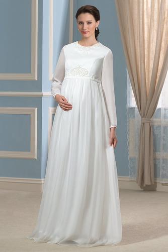 Vestido de novia Tallas grandes Joya Camiseta primavera Fuera de casa - Página 1
