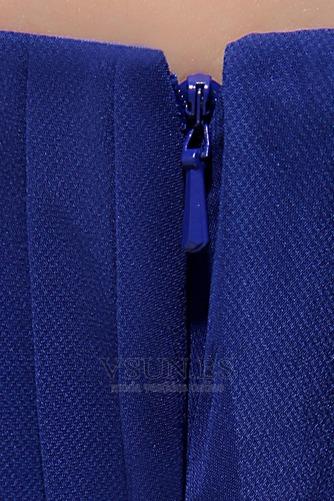 Vestido de fiesta Elegante primavera Corte-A Cola Barriba fantasía Sin mangas - Página 8