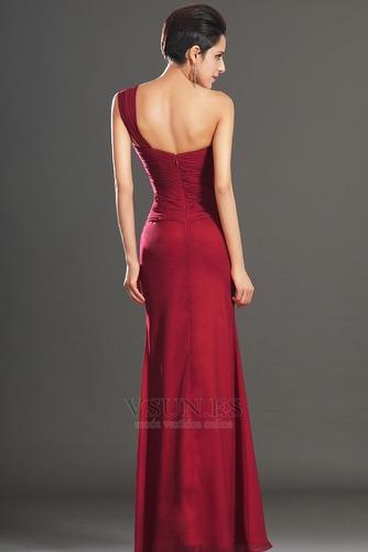 Vestido de noche Elegante Blusa plisada Corte Recto Plisado Hasta el suelo - Página 5