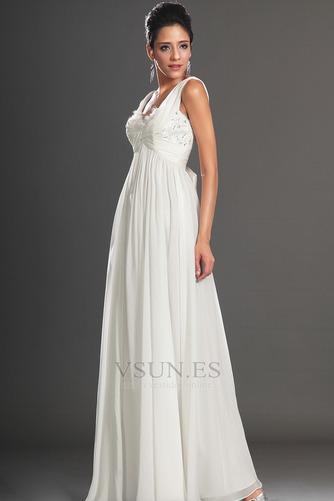 Vestido de noche Gasa Reloj de Arena Hasta el Tobillo 2015 Diosa vestido de novia - Página 6