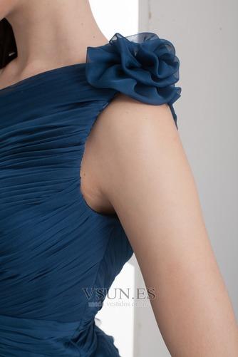 Vestido de fiesta Corto Falta Corte Recto Sencillo Espalda medio descubierto - Página 7