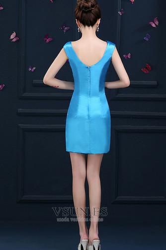 Vestido de cóctel primavera Falta Blusa plisada Glamouroso Plisado Cremallera - Página 2