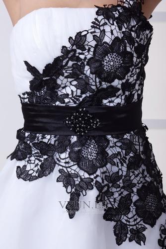 Vestido de cóctel Corto Falta Escote Asimètrico Espalda medio descubierto - Página 5