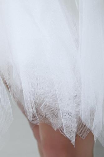 Vestidos de novia Tallas pequeñas Fuera de casa Corto Corte princesa - Página 8