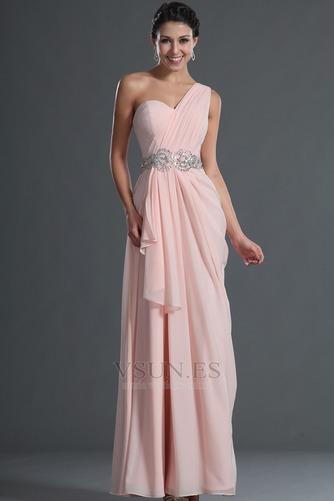 Vestido de fiesta Elegante Bebé rosa Verano Natural Gasa Sin mangas - Página 5