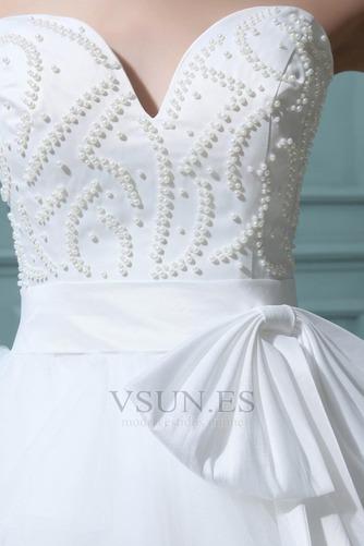 Vestidos de novia Tallas pequeñas Fuera de casa Corto Corte princesa - Página 6