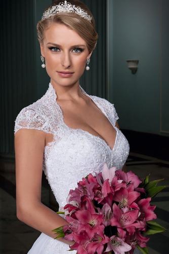 Vestido de novia Clasicos Abalorio Natural Queen Anne Otoño tul - Página 3