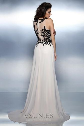 Vestido de noche largo Bordado Elegante Corte-A Cremallera Natural - Página 2