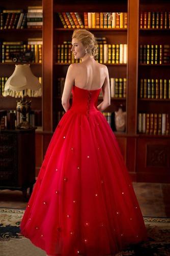 Vestido de novia primavera Natural tul Cremallera Escote Corazón Corte-A - Página 2