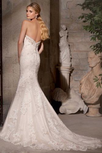 Vestido de novia Espectaculares Sala Escote Corazón largo Sin mangas - Página 2
